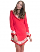 Irina Dress Rojo - PREORDER