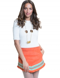 Anya Skirt Orange
