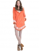 Irina Dress Orange - PREORDER