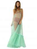 Picture of Exclusive Long Dresses; Ganesha GREEN