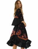 Picture of the Nice Hippie Dresses; Naisha