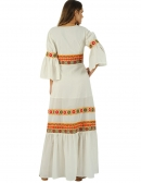 Picture of the Spectacular Ethnic Jacket; Goa Beige