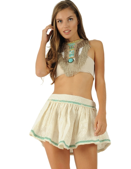 Picture of Nisha, Hippie Skirts for Summer