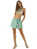 Picture of Womens Cotton Skirts; Ishani Green