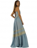 Picture of Long Dresses for Summer; Indira Blue