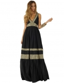 Picture of Long Dresses; Indira Black