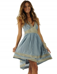 Alisha Dress Blue