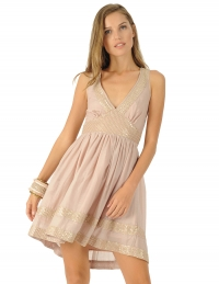 Alisha Dress Nude