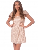 Picture of the Most Cool Short Dresses; Ananda Nude