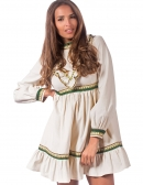 Diana Dress Beige