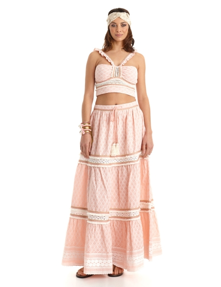 Picture of Hippie Skirts; Capri Nude