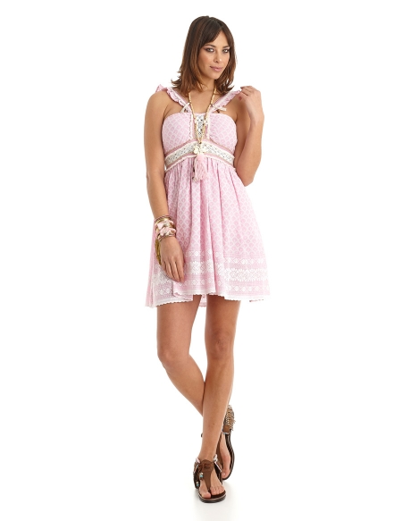 Picture of Short Dress; Maui Pink