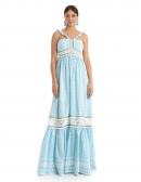 Picture of Boho Style Dress, Palawan Blue