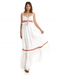 Maya Bay Dress Blanco