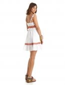 Picture of Hippie Chic Dress; Phuket White
