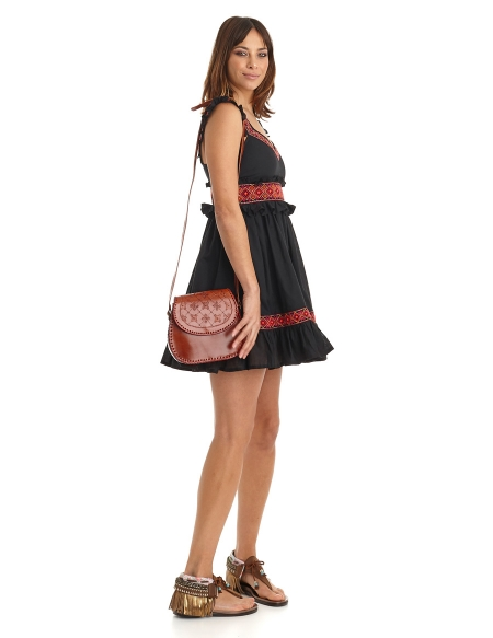 Picture of Hippie Chic Dress; Phuket Black