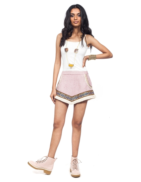 Picture of Frida Lilac, the original mini skirts