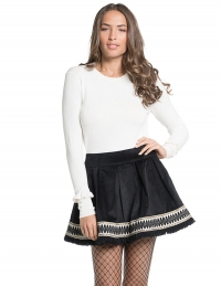 ROSE SKIRT BLACK